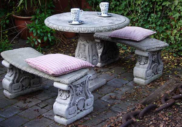 Concrete Garden Furniture Is It for You Home n Gardening Tips