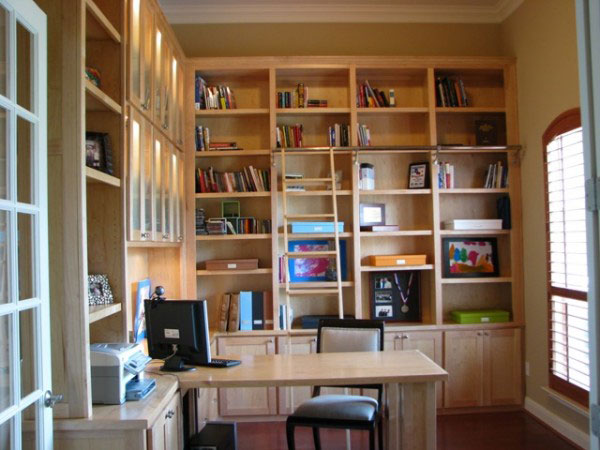dedicated home library - Library Furniture Home