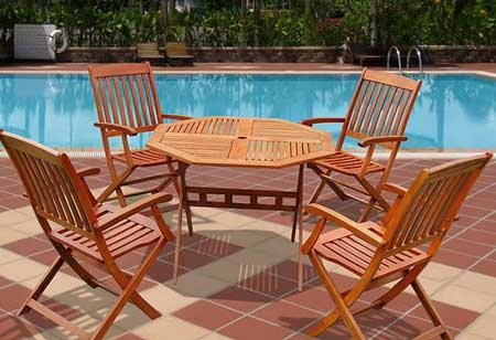 2. Hard and durable - Eucalyptus Patio Furniture: A Lesser Known Option Home N Gardening