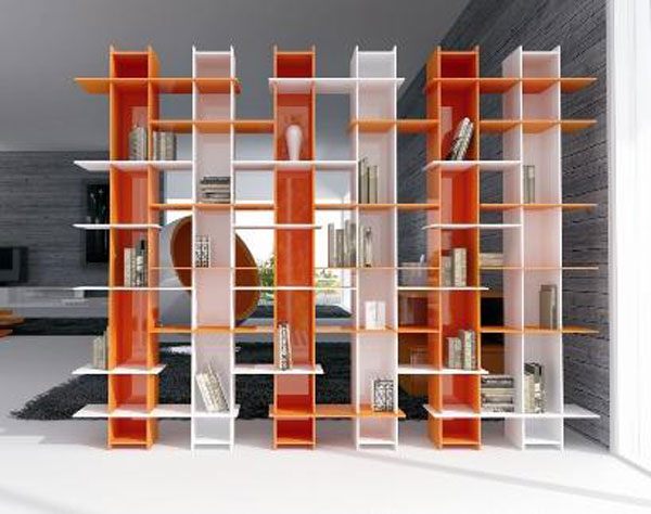 Furniture ideas for a fashionable home library 6 handy for Muebles para departamentos reducidos