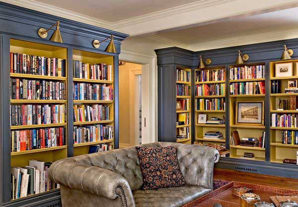 home-library-lighting