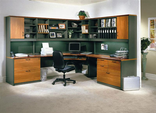 home-library-workstation