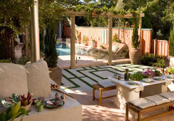 Mediterranean Style Garden Design Ideas: From Plants And