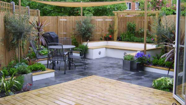 Lovely Terraced Garden Design Ideas