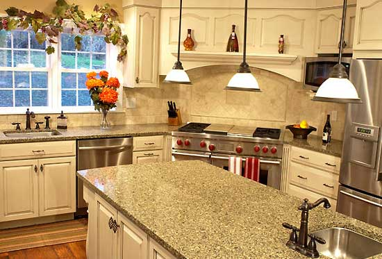 Stones For Kitchen Countertops : Stone Kitchen Countertops: Which Stone to Go For? Home n Gardening ...