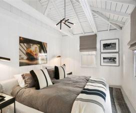 attractive guest bedroom